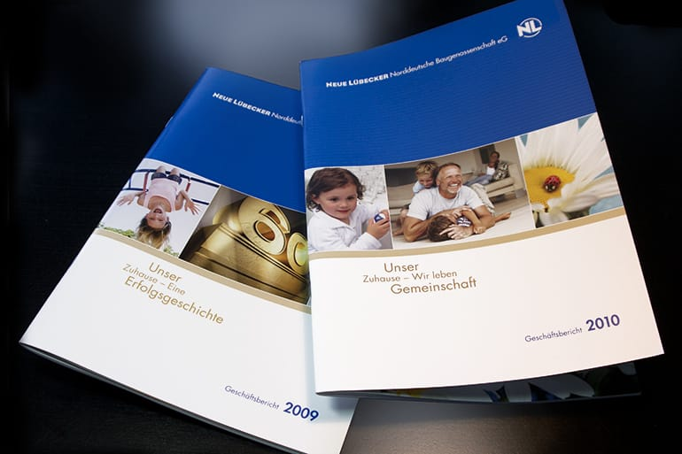 Geschäftsberichte · Neue Lübecker