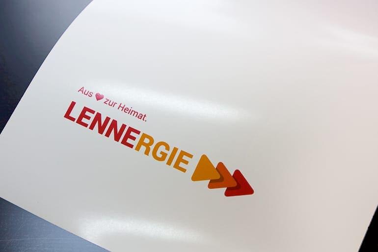 Logo-Entwicklung · Lennergie