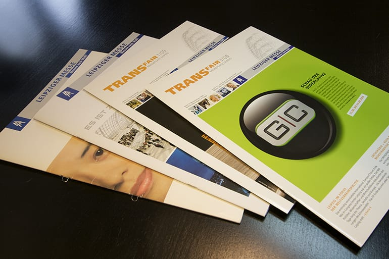 Kundenmagazin · Leipziger Messe