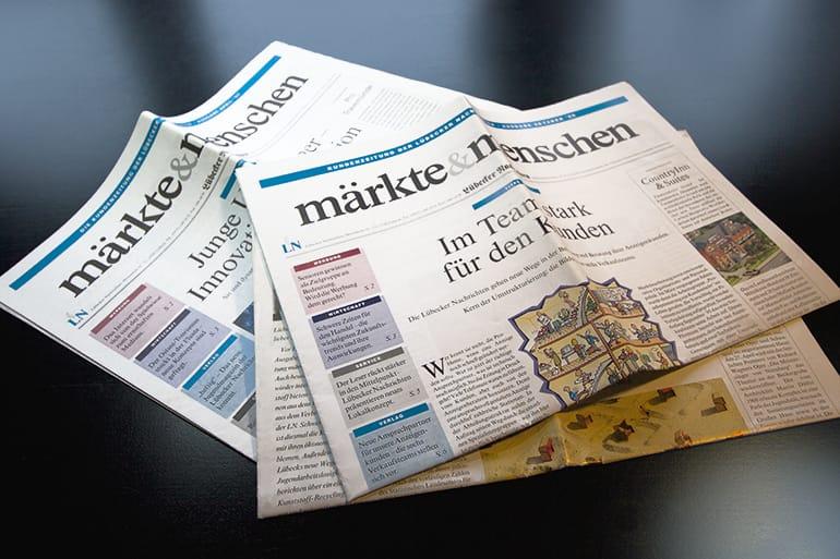 Kundenzeitung · Lübecker Nachrichten