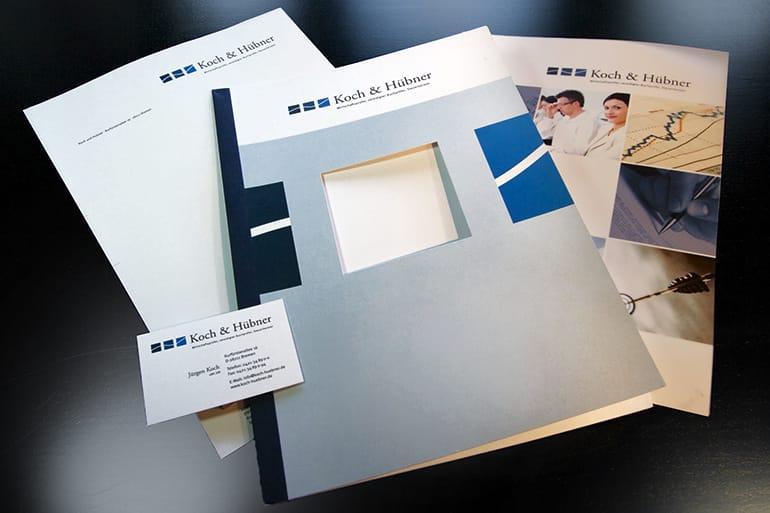 Corporate Design · Koch & Hübner
