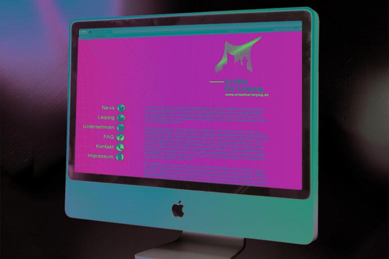 Webdesign · EnBw für Leipzig