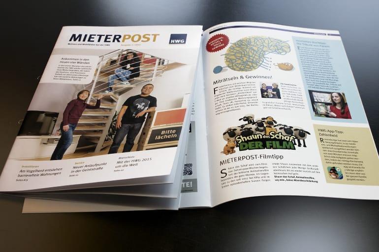 Mieterzeitung · Hallesche Wohnungsgesellschaft mbH