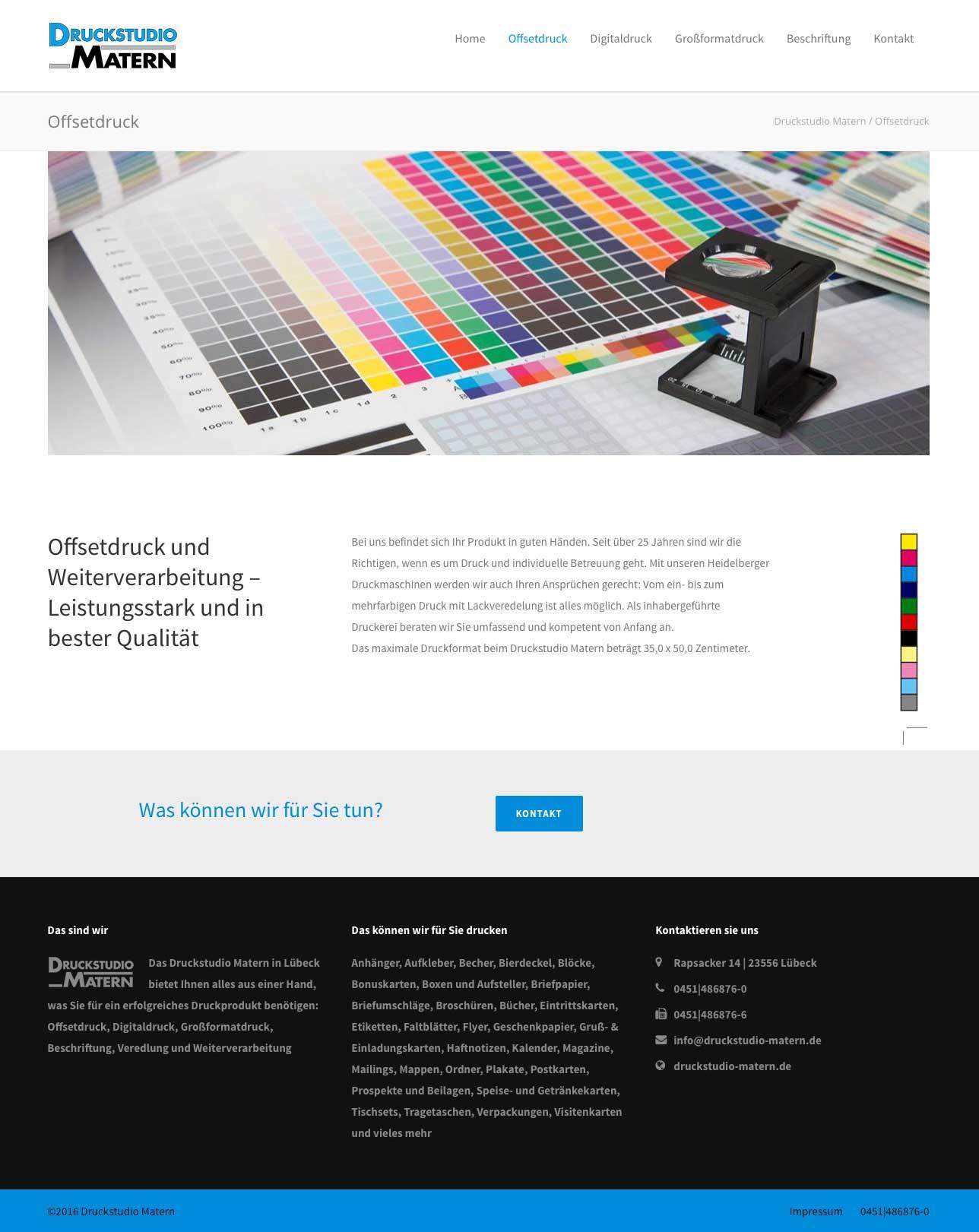Karsten Schulz Grafik Kontor Lübeck Designbüro